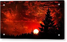 Sunset Fantasy I Acrylic Print
