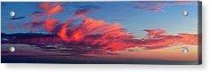 Sunset From Haleakala Acrylic Print by Babak Tafreshi
