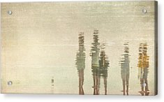 Acrylic Print featuring the photograph Sunset Gathering by Kevin Bergen