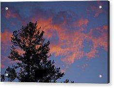 Sunset Glow Acrylic Print by Greg Vizzi