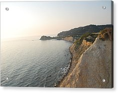 Acrylic Print featuring the photograph Sunset Gourna by George Katechis