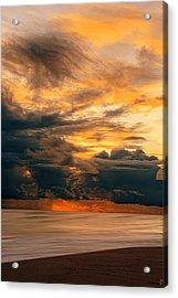 Sunset Grandeur Acrylic Print by Lourry Legarde