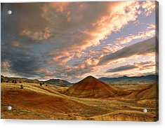 Acrylic Print featuring the photograph Sunset Hill by Sonya Lang