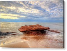 sunset hour at PEI National Park. Acrylic Print