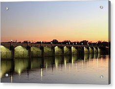 Sunset Hues Acrylic Print