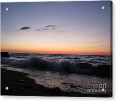 Sunset II Acrylic Print by Michael Krek