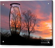 Sunset In A Bottle Acrylic Print