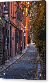 Sunset In Beacon Hill Acrylic Print