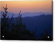 Sunset In California Acrylic Print