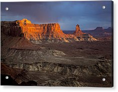 Sunset In Canyonlands Acrylic Print