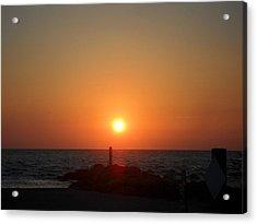 Sunset In Captiva Acrylic Print
