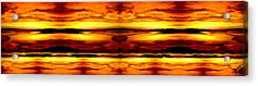 Sunset In Heaven Acrylic Print