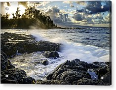 Big Island - Sunset In Hilo Acrylic Print