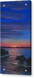 Sunset In Islamorada Acrylic Print by J Barth