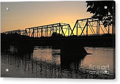 Sunset In June Acrylic Print