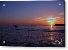 Sunset In Keywest Acrylic Print