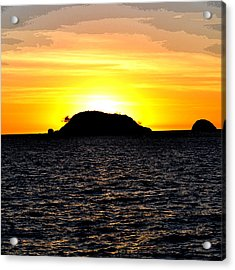Sunset In Madagascar Acrylic Print by Ernesto Cinquepalmi