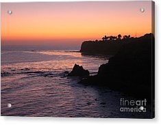 Sunset In Paradise Acrylic Print by Bev Conover