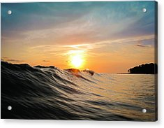 Sunset In Paradise Acrylic Print