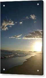 Sunset In Rio Acrylic Print by Frederico Borges