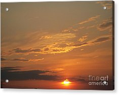 Acrylic Print featuring the photograph Sunset In St. Peters by Kelly Awad