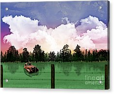 Sunset In The Boondocks Acrylic Print