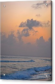 Sunset In The Tropics Acrylic Print by John Malone