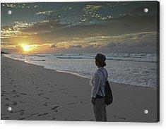 Sunset In Varadero Acrylic Print