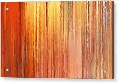 Sunset Infinity Acrylic Print by Lourry Legarde