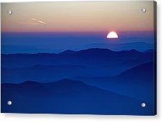 Sunset Acrylic Print by Ioan Panaite