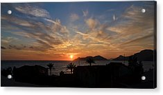 Sunset Acrylic Print by Ivelin Donchev