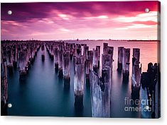 Sunset  Acrylic Print by Jan Wolf
