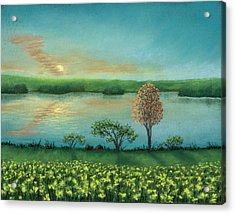 Sunset Lake B Acrylic Print