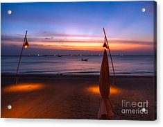 Sunset Lanta Island  Acrylic Print by Adrian Evans