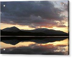 Sunset - Loch Morlich - Scotland Acrylic Print