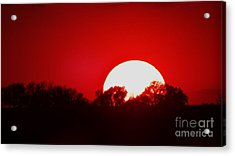 Sunset May Acrylic Print by J L Zarek