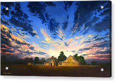 Sunset Memories Acrylic Print by Douglas Castleman