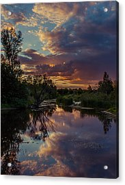 Sunset Mirror Acrylic Print