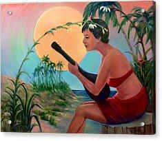 Sunset Music Acrylic Print