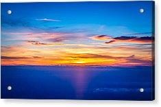 Sunset Acrylic Print by Neah Falco