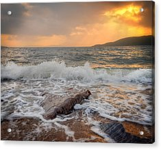 Sunset Of Firth Of Lorn Acrylic Print