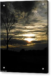 Sunset Of Life Acrylic Print
