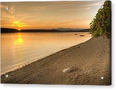 Sunset Olympic Peninsula, Washington Acrylic Print
