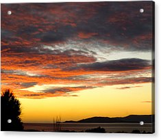 Sunset On Bantry Bay Acrylic Print