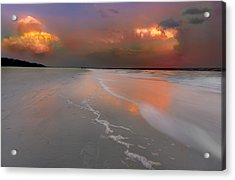 Sunset On Hilton Head Island Acrylic Print