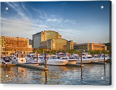 Sunset On National Harbor Acrylic Print