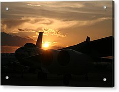 Sunset On The Cold War Acrylic Print