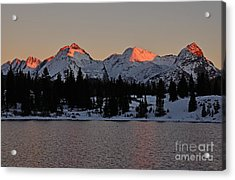 Sunset On The Grenadiers Acrylic Print