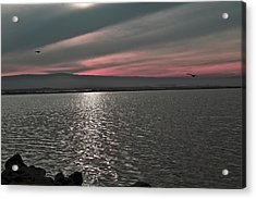 Sunset On The Marsh Acrylic Print