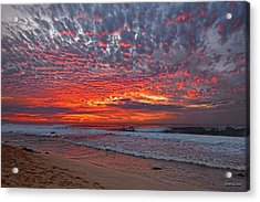 Acrylic Print featuring the photograph Sunset On The North Shore by Aloha Art